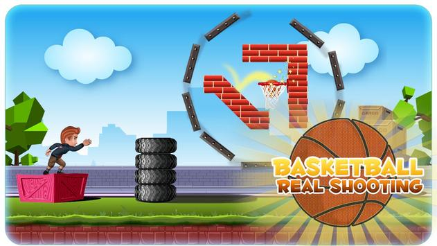 Basketball Real Shooting apk screenshot
