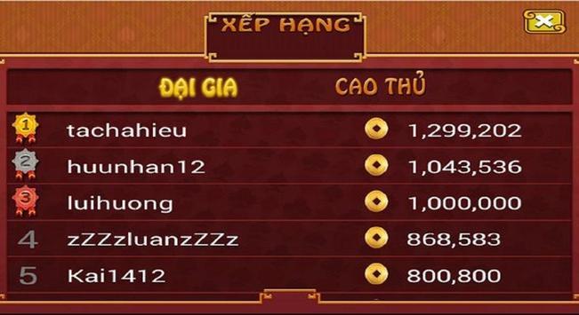 Danh bai doi thuong screenshot 2
