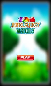 Jewels Quest Match 3 poster