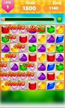 Jewels Quest Match 3 screenshot 1