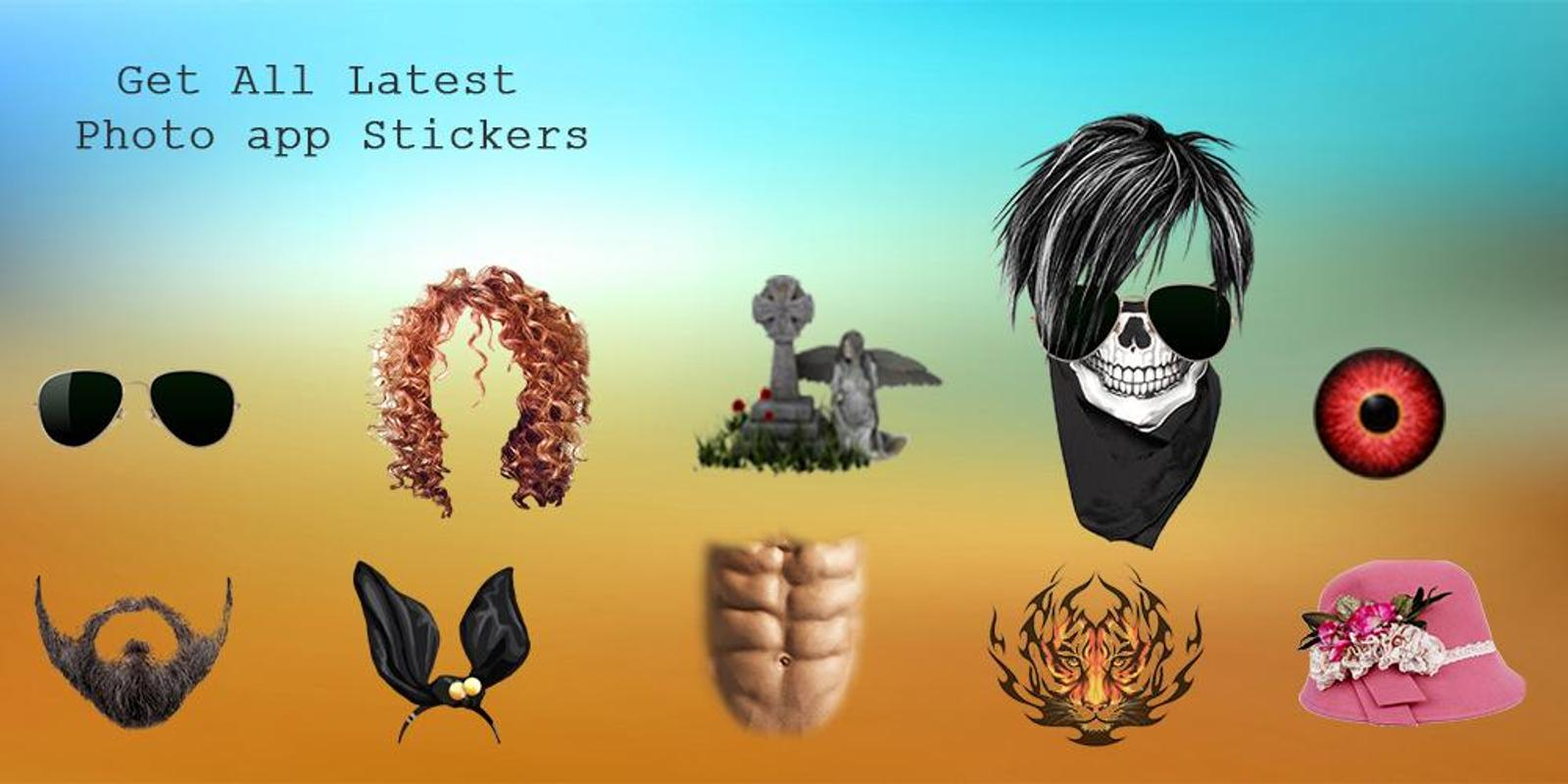 Multi Stickers Boy Hairstyle Photo Editor For Android Apk Download