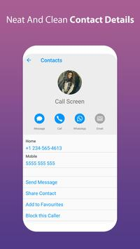 Round Corner i Call Screen OS11 Phone 8 Style apk screenshot