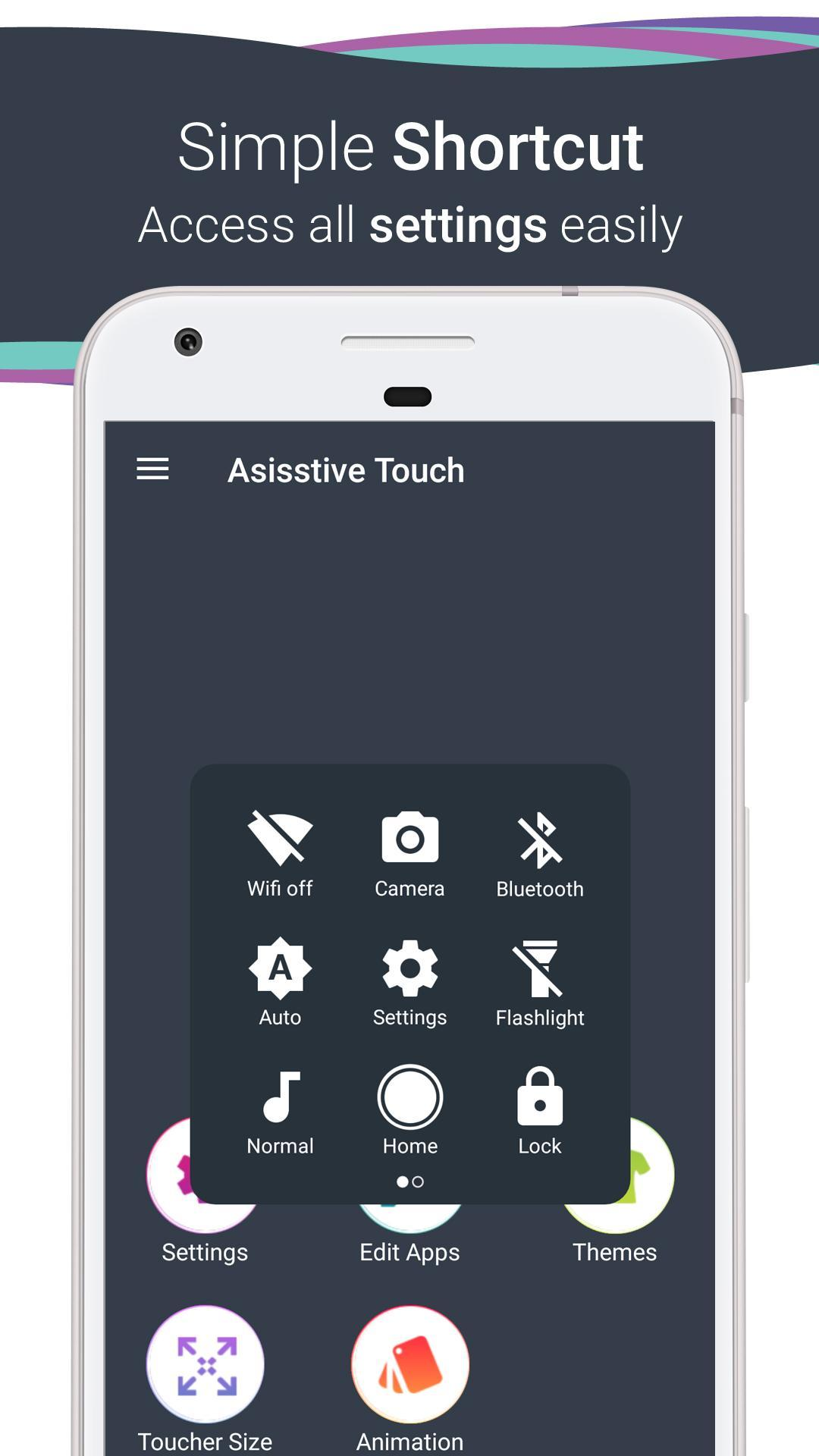 Assistive Touch OS 11 Phone 8 Style for Android for Android