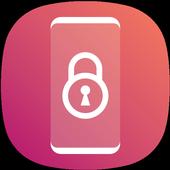 Round Corner i Lock Screen Phone 8 OS11 Style icon