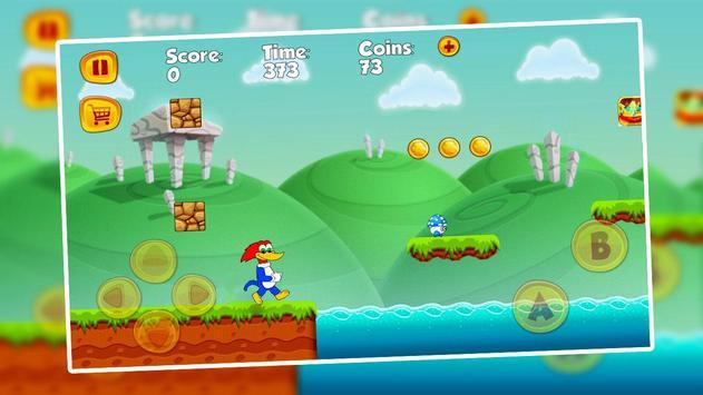 Woody Super Woodpecker Adventure screenshot 2