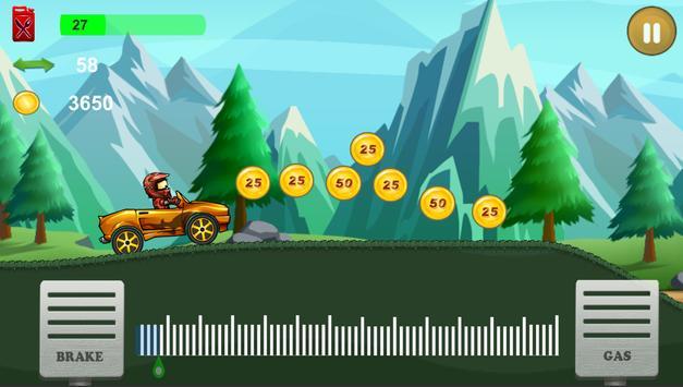 Up hill Car Racing screenshot 3
