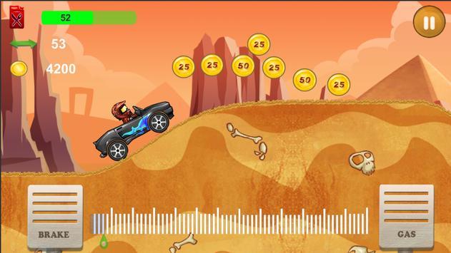 Up hill Car Racing poster