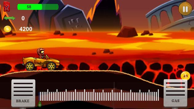 Up hill Car Racing screenshot 1