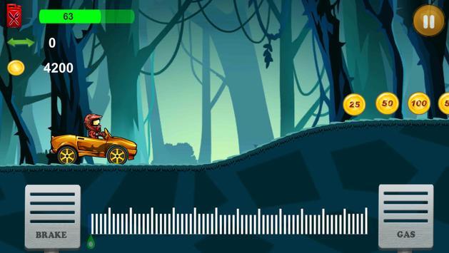 Up hill Car Racing screenshot 2