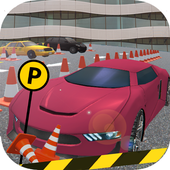 Frill Car Parking 3D icon