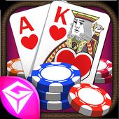 Texas holdem poker-Open source icon