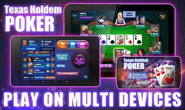 Texas holdem poker-Open source apk screenshot