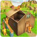 Jungle Hut Construction House- Building & Crafting