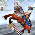 Superheroes Snow Buggy Horse Transport