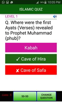 Islamic Quiz 2016 apk screenshot