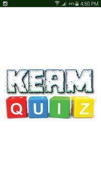 KEAM QUIZ poster