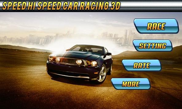 Speed Hi Speed Fast Racing 3D poster