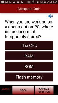 Computer Quiz apk screenshot
