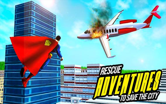 Amazing Flying Robot Captain : City Rescue Battle screenshot 18