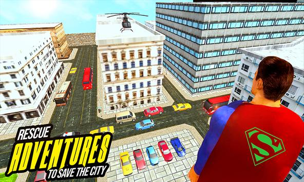 Amazing Flying Robot Captain : City Rescue Battle screenshot 6