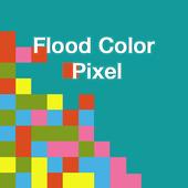 Flood Color Pixel icon