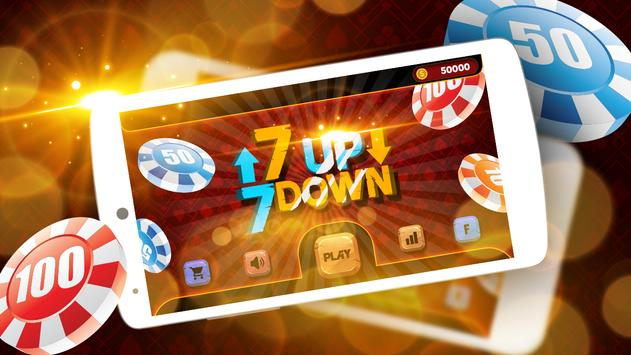 7 Up & 7 Down Poker Game poster