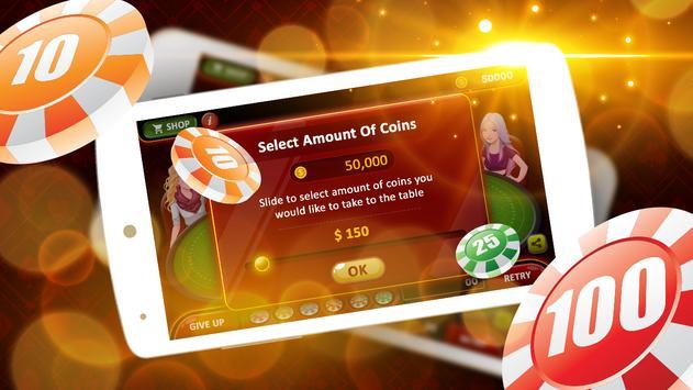 7 Up & 7 Down Poker Game screenshot 14