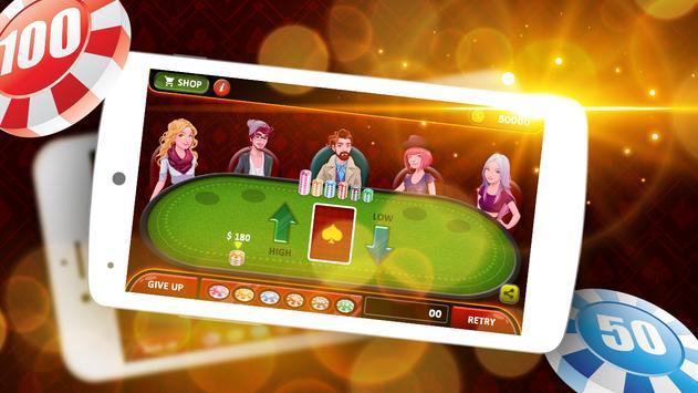 7 Up & 7 Down Poker Game screenshot 5