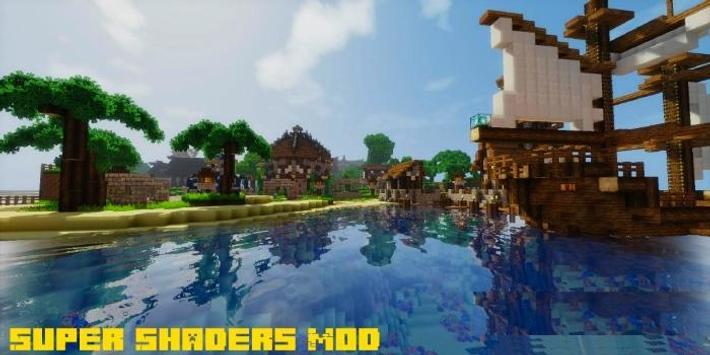 Super Shaders Mod MCPE screenshot 1
