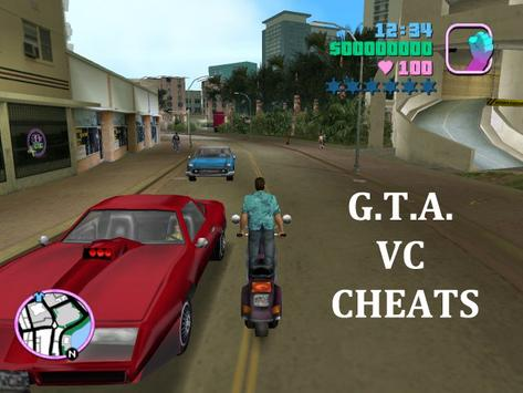 CHEATS : Gta VC 2017 New Pack poster