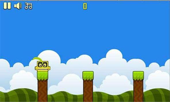 Banana kawaii jump apk screenshot
