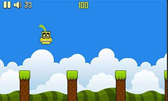 Banana kawaii jump screenshot 2