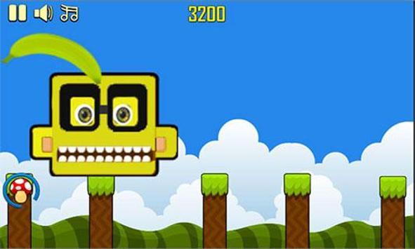 Banana kawaii jump screenshot 3