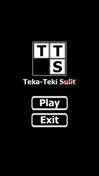 TTS: Teka-Teki [tidak] Sulit poster