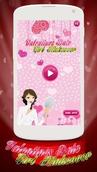 Valentine Makeover - Girl Game poster