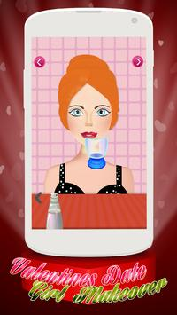 Valentine Makeover - Girl Game apk screenshot