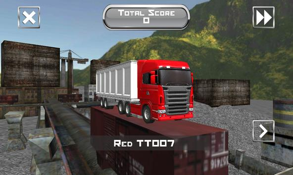Industry Truck Transporter 3D apk screenshot