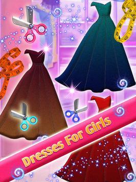 Design Your Dress : Fashion Designer Game poster