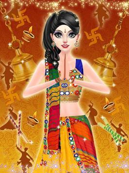 Indian Navratri Makeover and Makeup screenshot 1