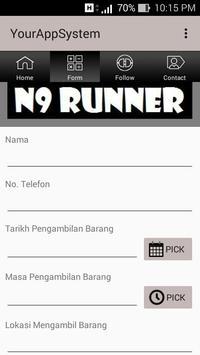 N9 RUNNER poster