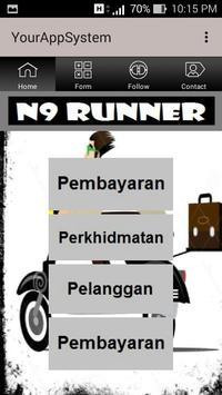 N9 RUNNER screenshot 1
