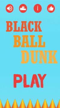 Black Ball Dunk poster
