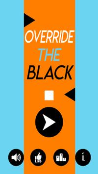 Override The Black poster