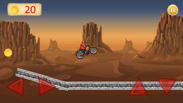 Motorcycle Jump screenshot 3