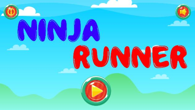 Ninja Hero Runner Adventure poster