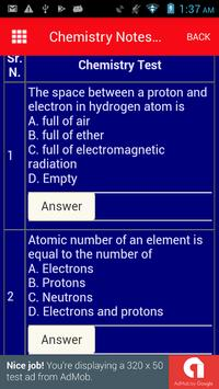 Chemistry Notes with MCQ in Easy Language screenshot 5