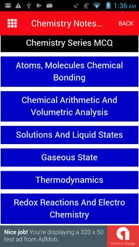 Chemistry Notes with MCQ in Easy Language screenshot 7