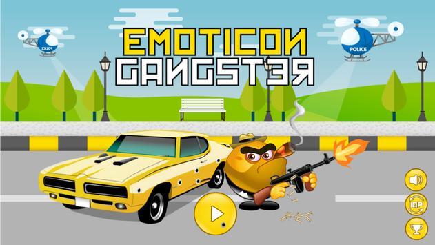 Emoticon Gangster poster