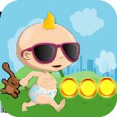 Baby cool world run icon