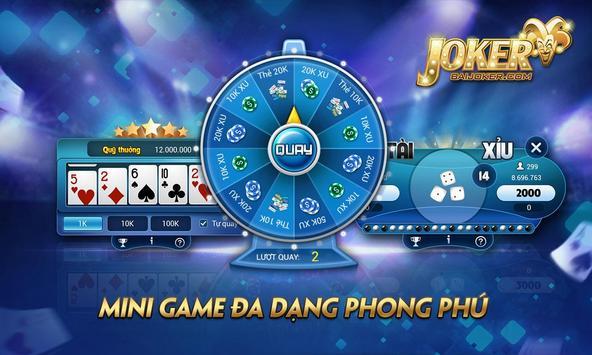 BaiJoker - Game bai doi thuong screenshot 6